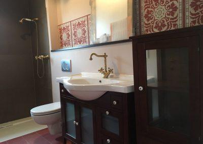 Salle de bain type ancien
